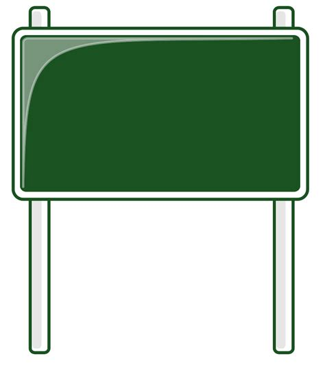 free templates for signs road sign template cliparts co