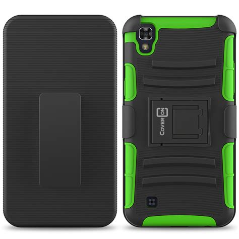 Lg X Power K220y Future Armor Hybrid Holster Belt Casing Cover hybrid kickstand holster for lg x power belt clip