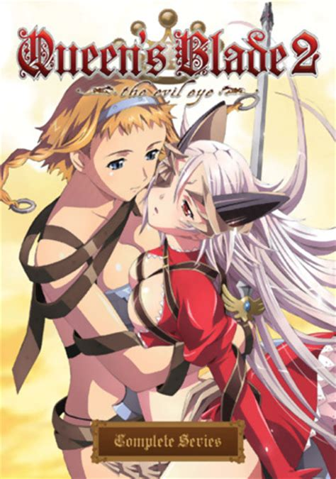 film anime queen blade queen s blade 2 the evil eye complete collection dvd