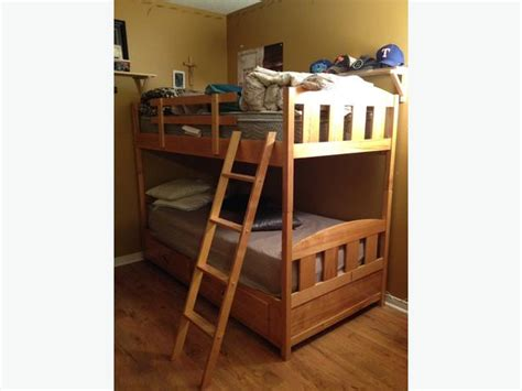 bunk bed ottawa solid birch wooden bunk beds outside ottawa gatineau area
