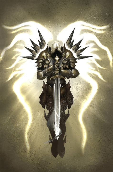 tyrael archangel of justice by shidiwenbrown on deviantart