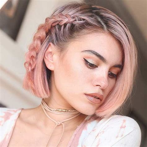 short hairstyles with colours 1096 best pink hair images on pinterest colourful hair