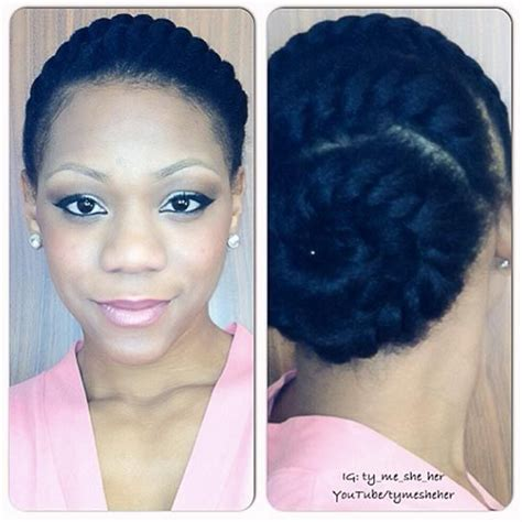 Transition Hairstyles by Easy Hairstyles For Transitioning Hair