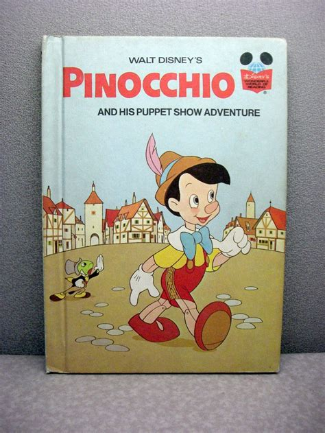 pinocchio picture book 1973 pinocchio vintage disney book