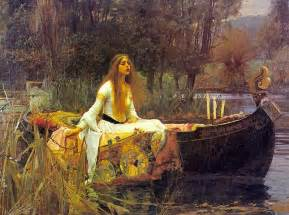 enjoying quot the lady of shalott quot by alfred tennyson