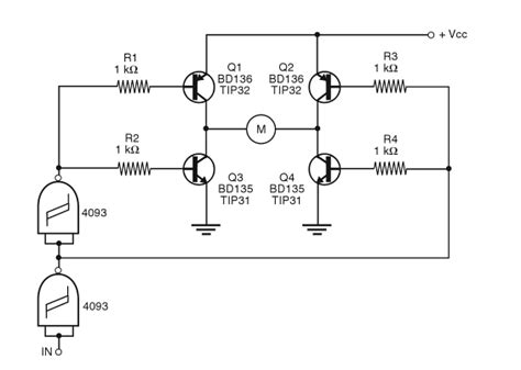 mengganti transistor npn ke pnp npn vs pnp at h bridges electrical engineering stack exchange