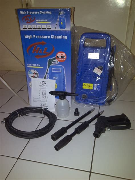 Alat Cuci Motor Portable Murah jet cleaner abw vgs 70 alat cuci mobil portable