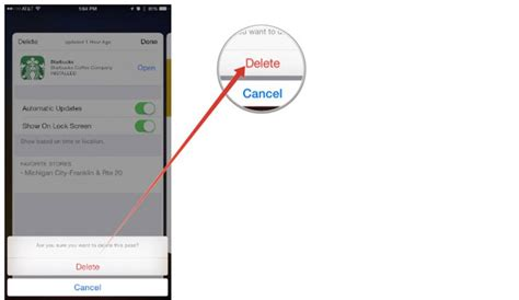 How To Add A Gift Card To Passbook - how to delete passbook cards on iphone recomhub
