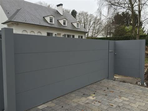 Portail Fer 1310 by Portail Jardin Coulissant Prix D Un Portail Aluminium