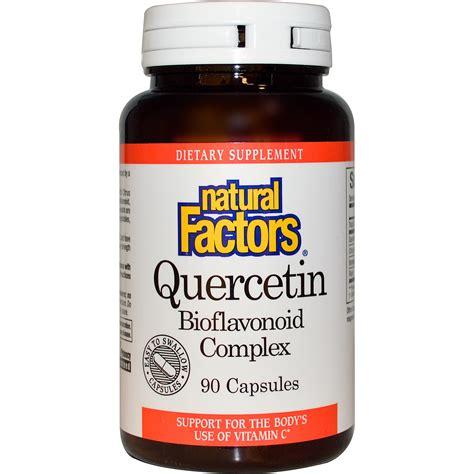 supplement quercetin factors quercetin bioflavonoid complex 90
