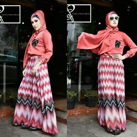 Manohara Syar I By Kanio by R S Pink Baju Muslim Gamis Modern