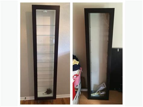 ikea bertby display cabinet obo 2 ikea bertby wood glass wall mounted display