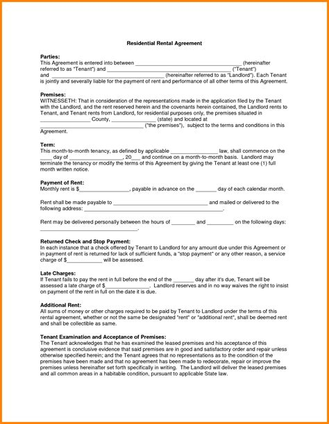 sle lease template downloadable lease agreement template 28 images sle