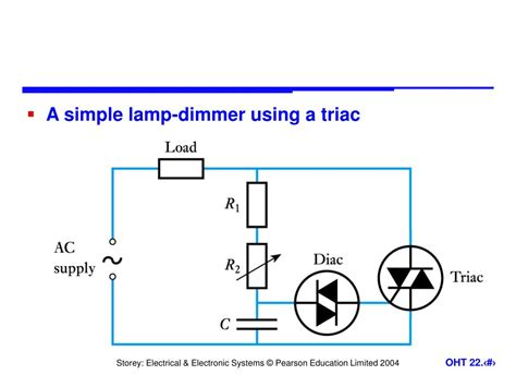 L Dimmer Using Triac by Ppt Power Electronics Powerpoint Presentation Id 598653