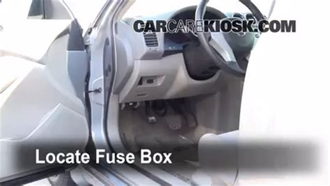 location of cigarette lighter fuse on a 2014 nissan versa