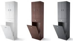 colonne salle de bain laundry 3 portes 1 tiroir