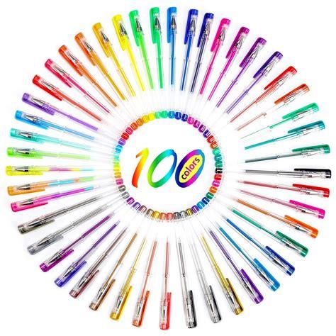 gel coloring pens 200 coloring gel pens unitystar gel pens set unitystar