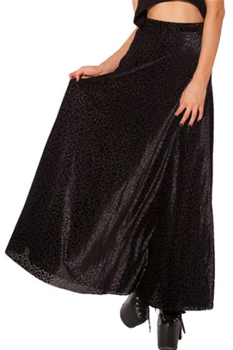 black pattern maxi skirt black leopard pattern velvet maxi skirt beautifulhalo com