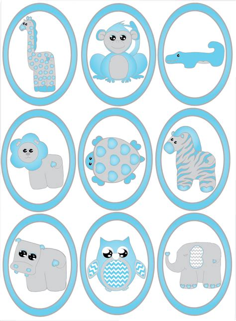 safari wall decals for nursery blue baby safari animal wall decals stickers safari