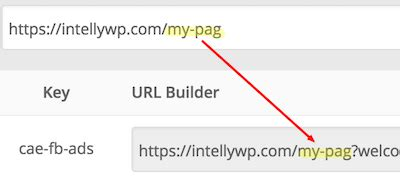 logo url generator welcome bar plugin intellywp