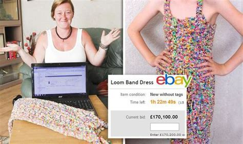 dress made from 24k loom bands sells on ebay for 170k amazing dress made entirely from loom bands sells for more