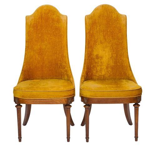 pair of vintage regency chairs at 1stdibs