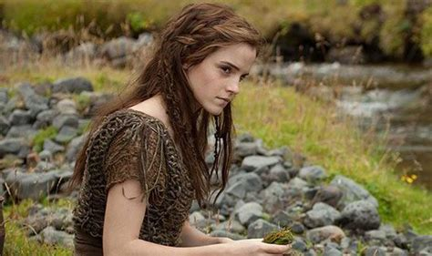 new film with emma watson emma watson undergoes a transformation for new biblical