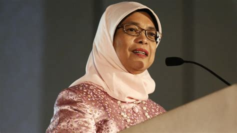 biography of halimah yacob infrastructure development should benefit people