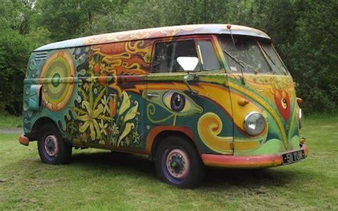 bmw hippie van hippie van under the hammer psychedelic type 2 vw up for