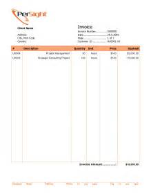 professional invoices template best photos of professional sles of invoices