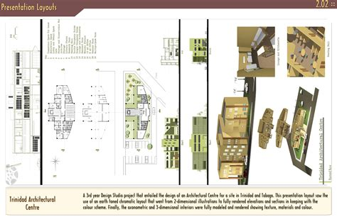 architecture design presentation layout 8 best images of architecture design presentation
