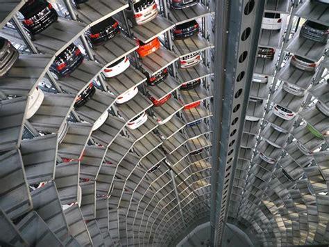 car park volkswagen s car park at autostadt by henn architekten