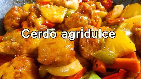 recetas de cocina faciles cerdo agridulce estilo chino recetas de cocina faciles
