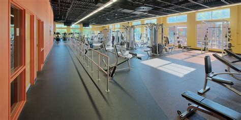 ymca weight room se trogdon sons inc general contractor asheboro greensboro high point nc metal buildings