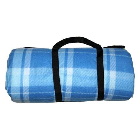 jumbo family sized picnic rug jumbo 3 x 4m picnic blanket blue check patten buy