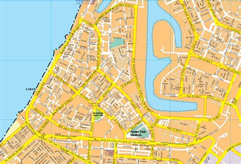 Our Ajman wall map . Wall Maps Mapmakers offers poster ...