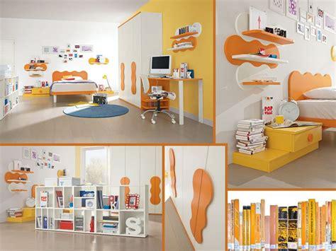 mensole colorate per bambini le 25 migliori idee su cameretta arancione su