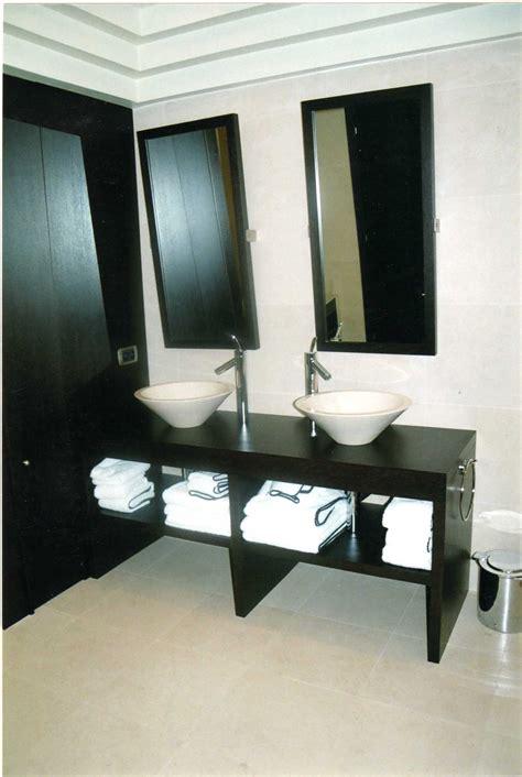 realizzazioni bagni moderni rovere tinto bagni moderni realizzazione in legno nettuno
