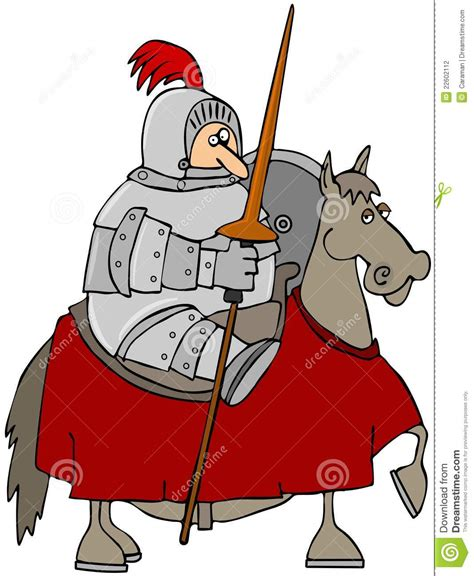 jousting knight stock photography image