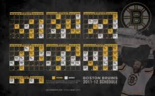 Bruins Schedule Boston Bruins Images Bruins 2011 12 Schedule Hd Wallpaper