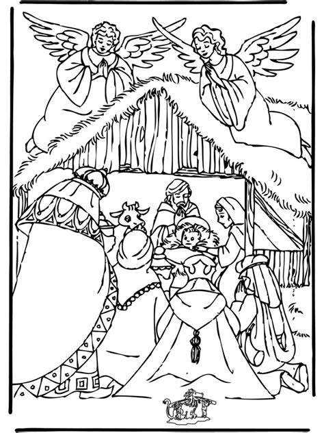 coloring pages nativity animals nativity story 17 the nativity story