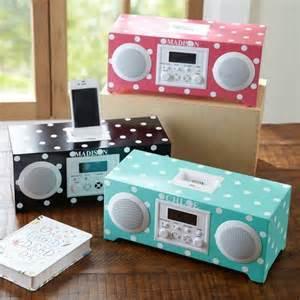 alarm clocks for rooms polka dot ihome radio alarm clock wants