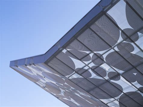 Awning Pattern Brooks Scarpa S Contemporary Art Museum Canopy In