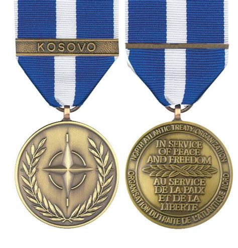 Nato Essay by Nato Kosovo Size Medal Empire Medals Medals