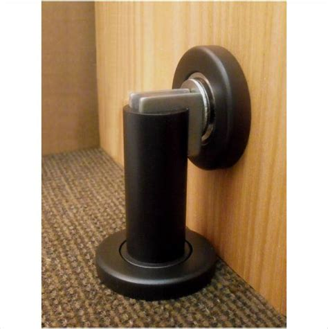 magnetic door stop rubbed bronze fpl door locks