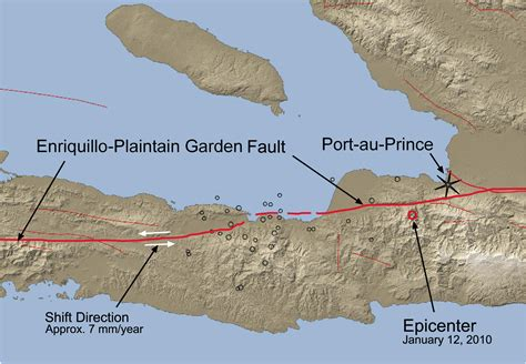 Garden Zone Map - file haiti january 12 2010 quake and enriquillo plaintain garden fault png wikimedia commons