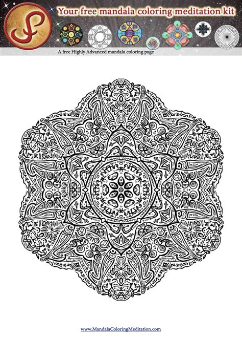 0 Level Coloring Pages by Mandala Coloring Pages Advanced Level Printable Az