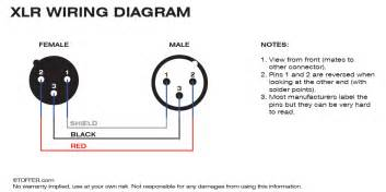 3 pin xlr wiring diagram toffer com