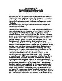 Tell Tale Essay by Edgar Allan Poe Essays Tell Tale Essay Academic Service