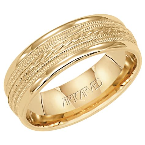 mens wedding ring gold yellow gold wedding rings for ipunya
